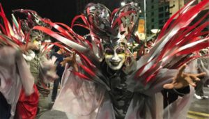 Curtidores de Hongos. Desfile de Carnaval 2018.