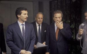 ar mauricio y Franco Macri