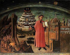 Domenico di Michelino (1417-1491 Dante y la Divina Comedia