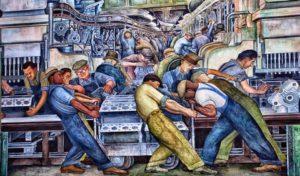 Diego Rivera, Los Murales Industriales de Detroit