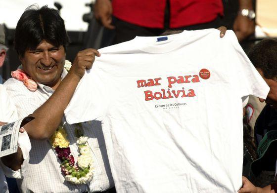 bol Evo-Mar-Bolivia