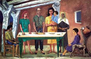 3 La Comida (1953) Antonio Berni