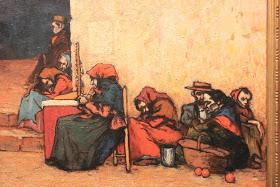 5 pobres esperando la sopa
