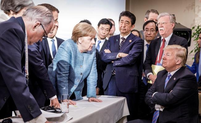 g20 merkel vs trump