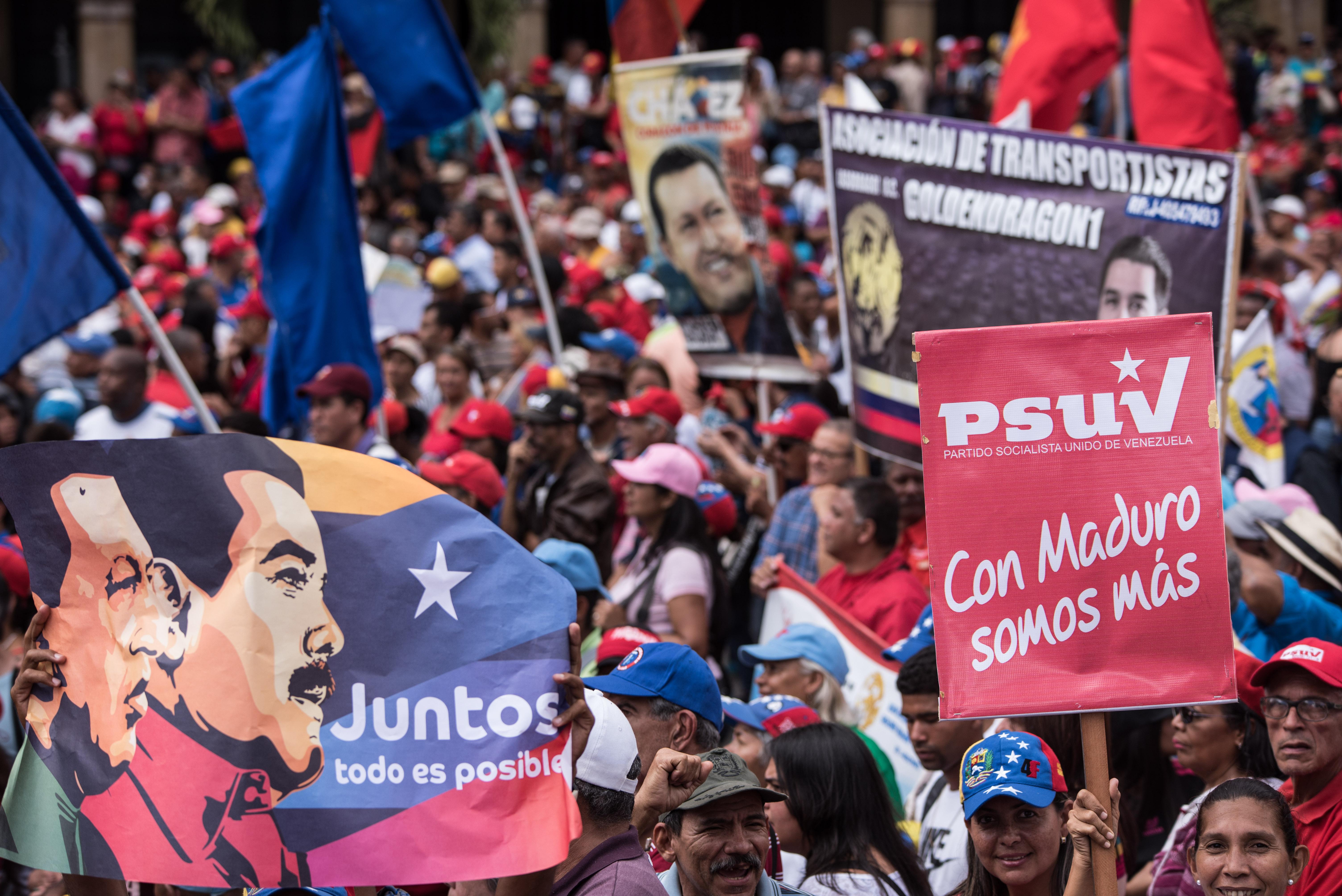 VENEZUELA-CARACAS-MARCHA