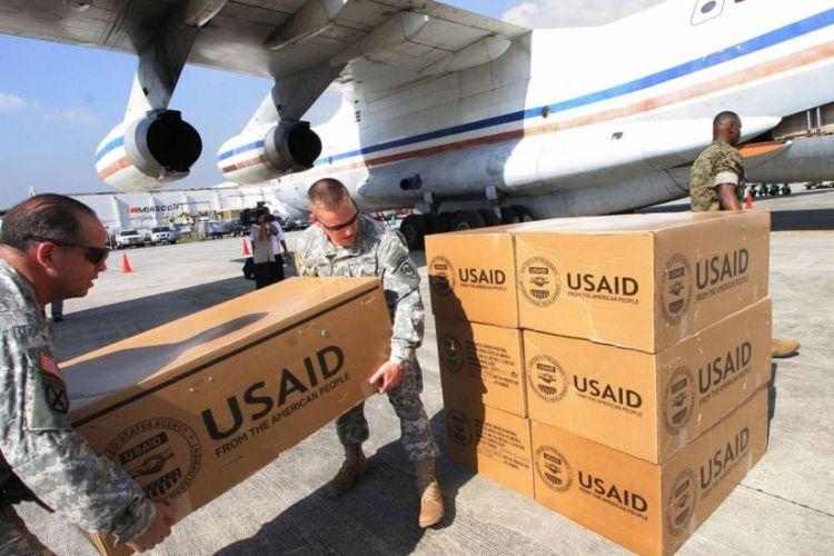 ven ayuda soldados usaid