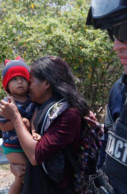 mex migrante detenida