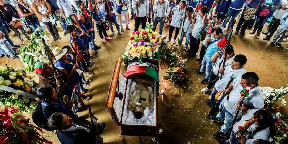 col asesinato indio