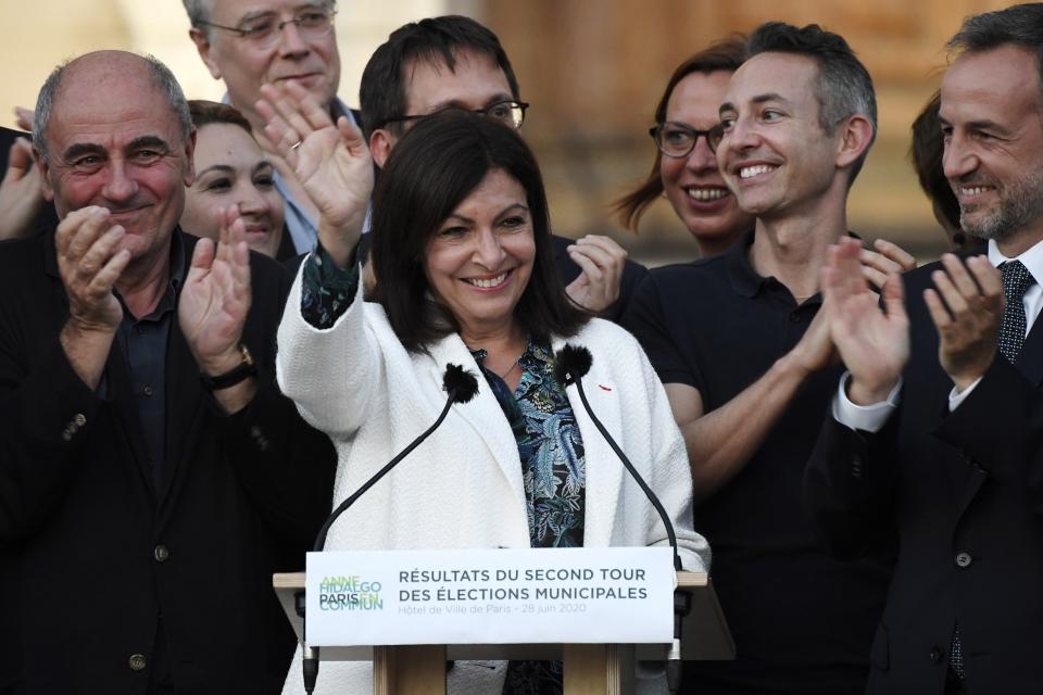 fr anne hidalgo socialista paris