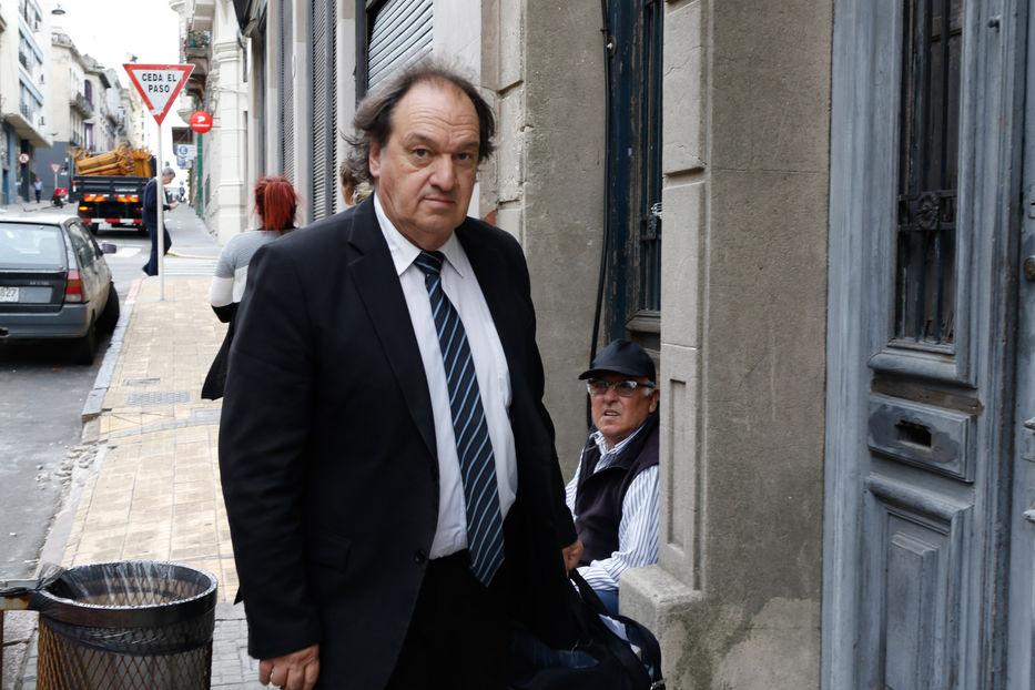 Guido Manini Rios en el juzgado por declaraciones de Gavazzo