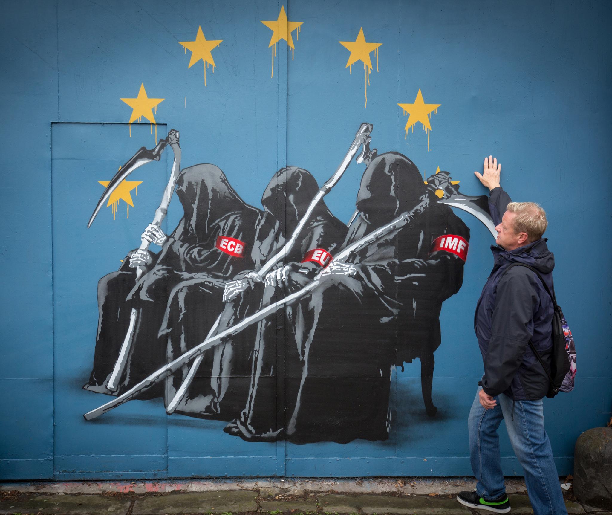 Bristol Hosts Europe's Largest Street Art And Graffiti Festival
