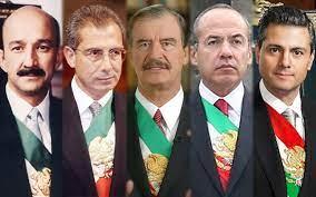 mex 5 expresidentes